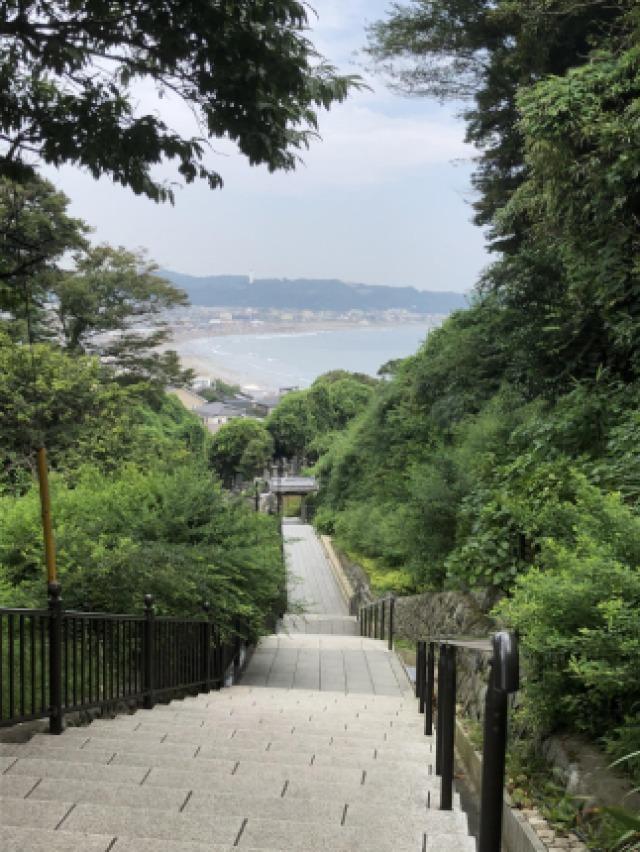 極楽寺からの景色